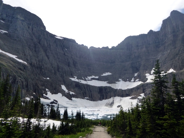 Approach to Iceberg Lake, Glacier National Park, MT
