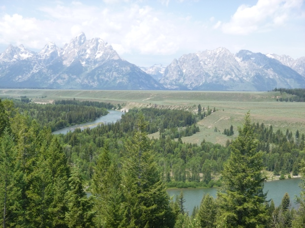 Snake River overlook on our way out of the park, Grand Teton National Park, WY