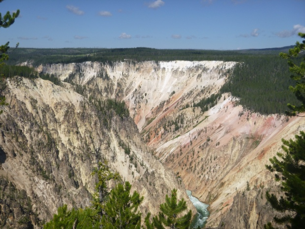 Grand Canyon of Yellowstone, Yellowstone National Park, WY