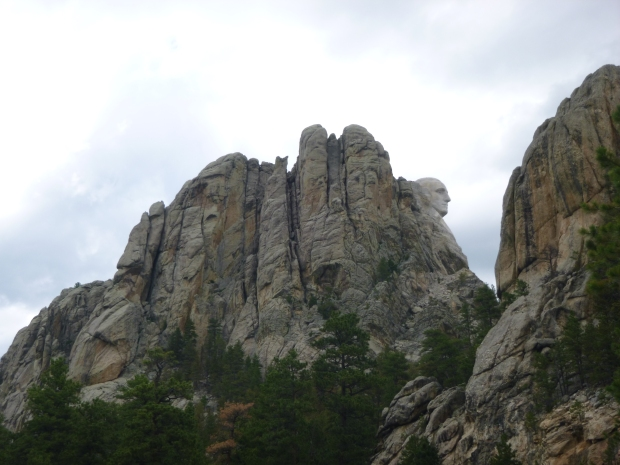 Cliffs at Mount Rushmore