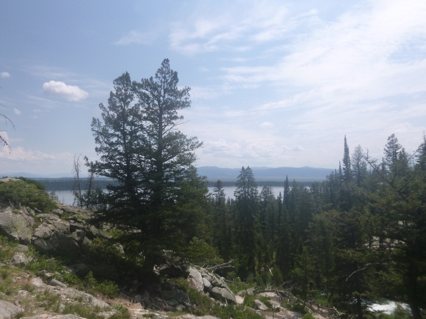 Trail to Inspiration Point, Grand Teton National Park, WY