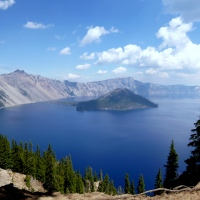 Crater Lake National Park. Or, How Many Pictures Can You Take of the Same Lake?