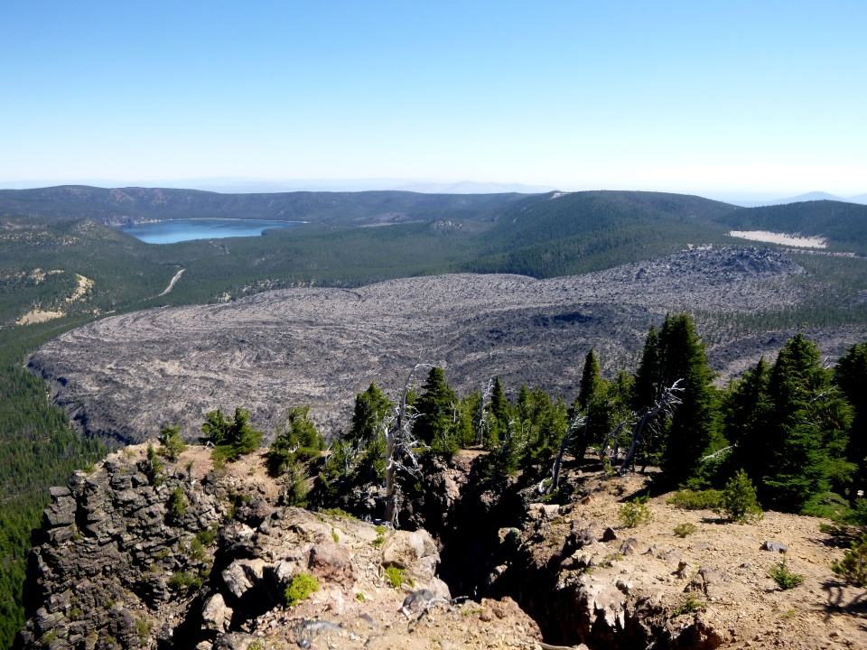 Newberry National Volcanic Monument.  Or, An Excuse to Post Lots of Pictures of Rocks.