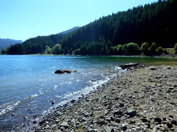 Unknown body of water, Oregon