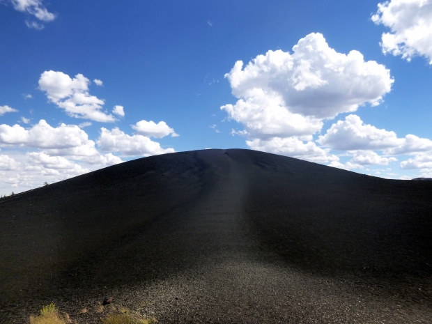 Inferno Cone, a basaltic cinder cone, Craters of the Moon National Monument, Idaho