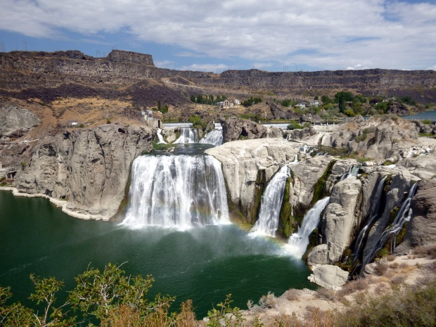 Shoshone Falls (with rainbow!), Twin Falls, Idaho