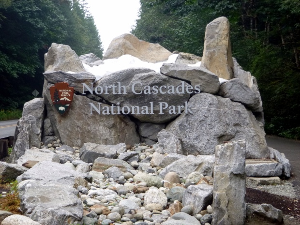 North Cascades sign