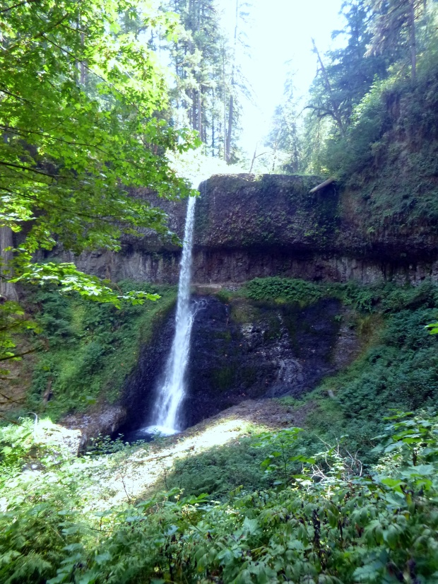 Middle North Falls, The Trail of Ten Falls, Silver Creek State Park, Oregon