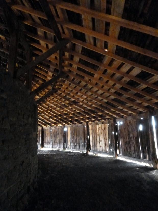Paddock around the perimeter of Round Barn, Oregon