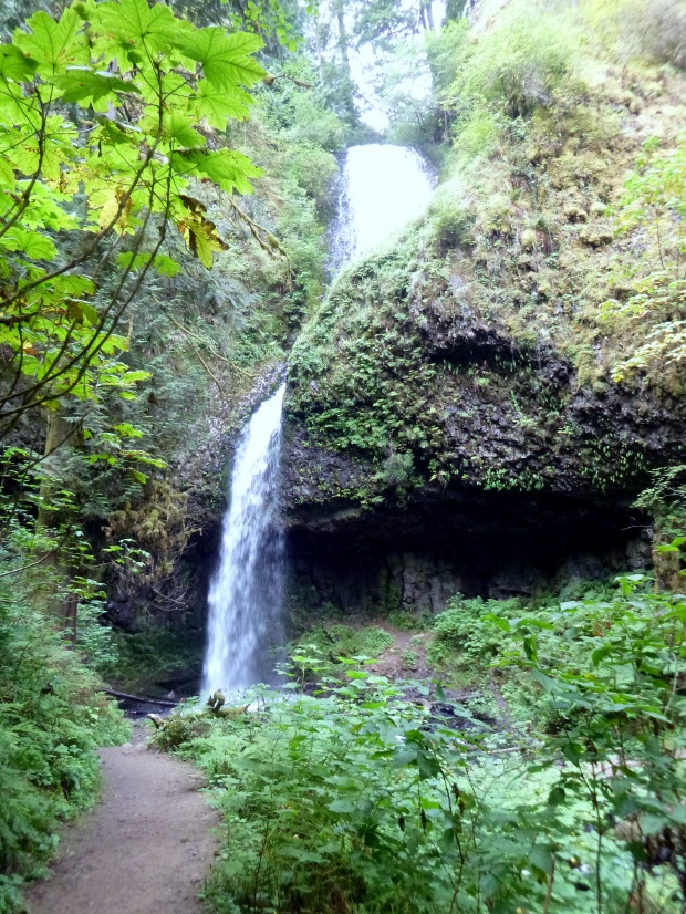 Upper Latourell Falls, Latourell Falls Loop Trail, Oregon