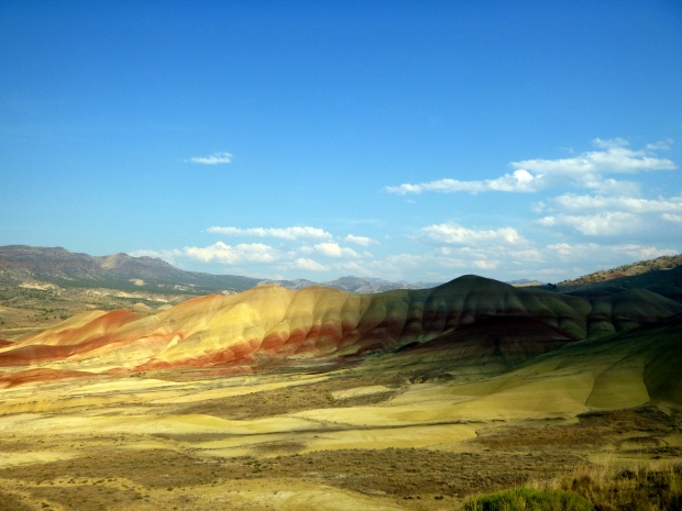 The Painted Hills from the overlook, John Day Fossil Beds , Oregon