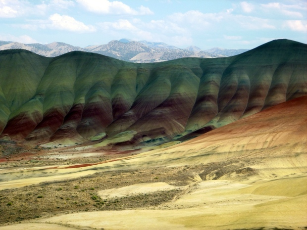 Layers of the Painted Hills, John Day Fossil Beds, Oregon
