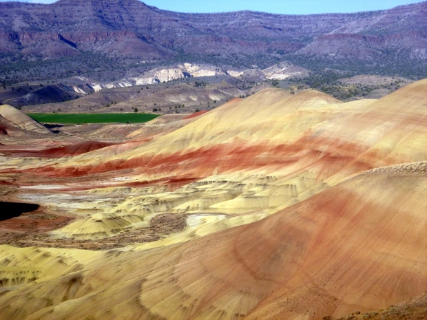 Painted Hills from Overlook Trail, John Day Fossil Beds, Oregon