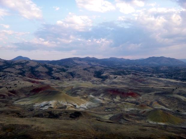Painted Hills, Carroll Rim Trail, John Day Fossil Beds, Oregon