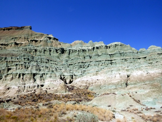 Formations along Island in Time Trail, Blue Basin, Sheep Rock Unit, John Day Fossil Beds, Oregon