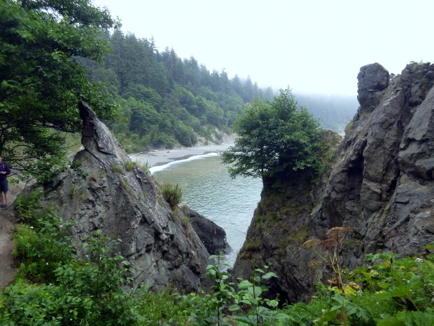 View from trail atop headland, Scott's Bluff, Olympic National Park