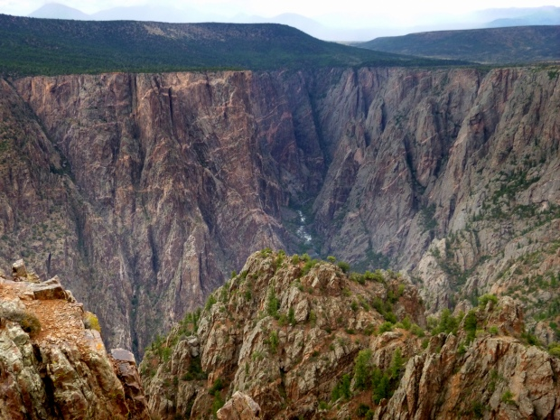 Warner Point Nature Trail, Black Canyon of the Gunnison National Park, Colorado