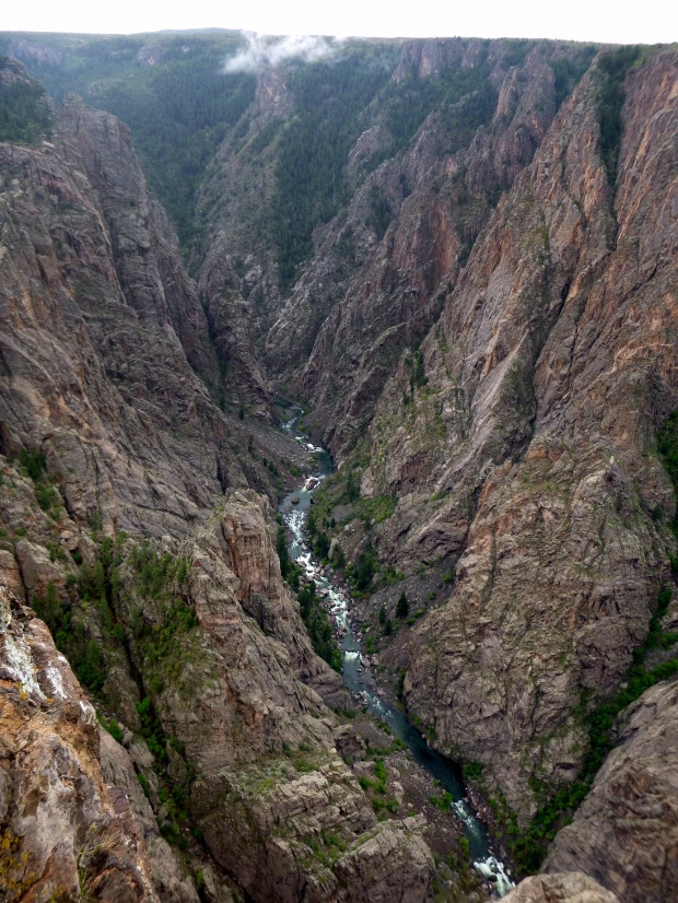 Big Island Overlook, Black Canyon of the Gunnison National Park, Colorado