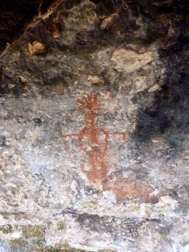 Pictograph, Cave Spring Trail, Needles, Canyonlands National Park, Utah