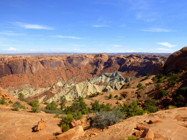 View from First Overlook, Upheaval Dome Trail, Canyonlands National Park, Utah
