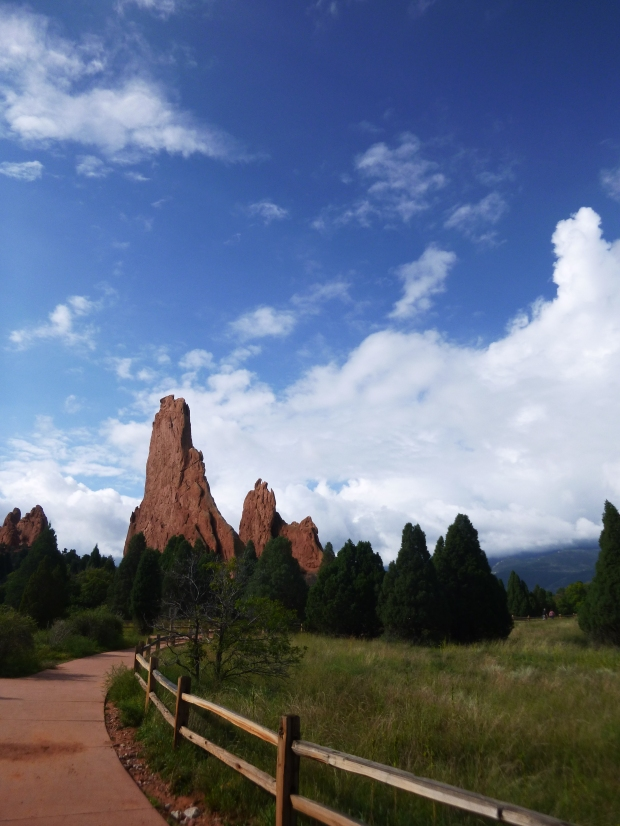 Pathway, Garden of the Gods, Colorado Springs, Colorado