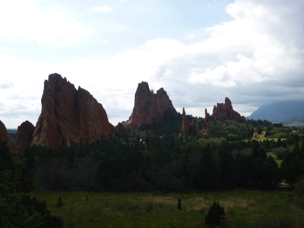 Overlook, Garden of the Gods, Colorado Springs, Colorado