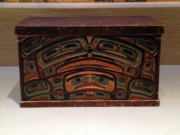 Tlinget (Native American, Southeast Alaska) Chest ca. 1850, Denver Art Museum, Colorado