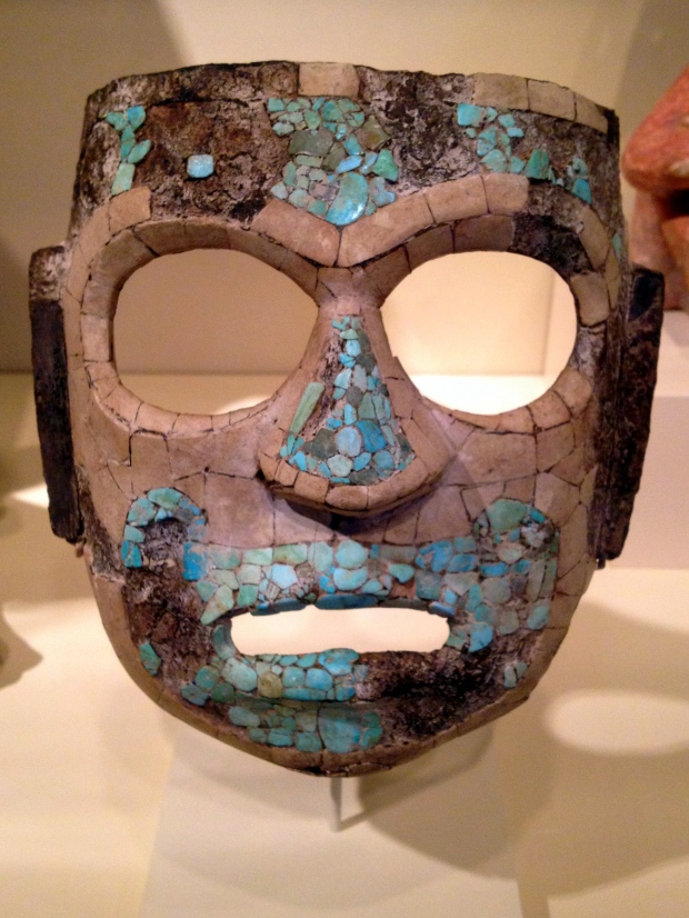 Mask, Mixtec, Mexico, ca. 1200-1500 AD, Denver Art Museum, Colorado