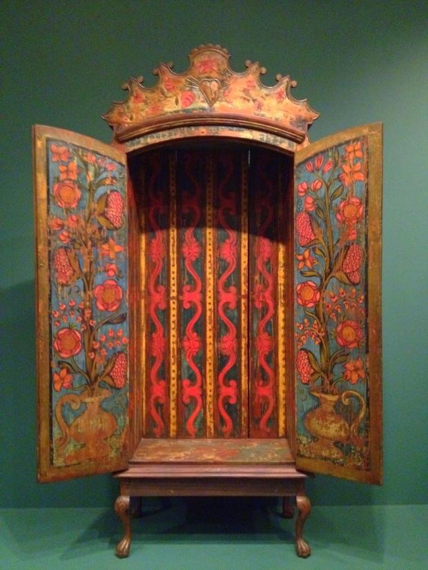 Cabinet, Paraguay, ca. 1750, Denver Art Museum, Colorado