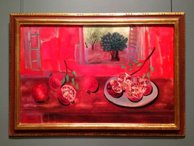 Still Life with Pomegranates, Reuven Rubin, 1962, Denver Art Museum, Colorado