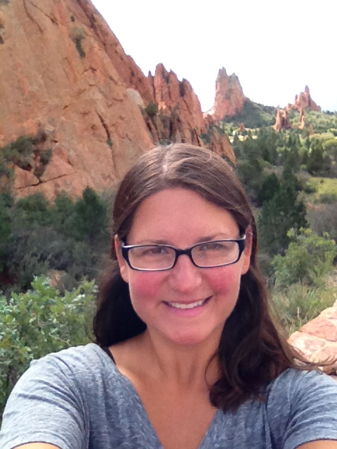 Me in Garden of the Gods, Colorado Springs, Colorado