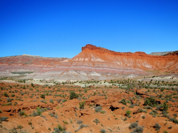 Colorful hills by the Old Paria Movie Set, Grand Staircase-Escalante National Monument, Utah