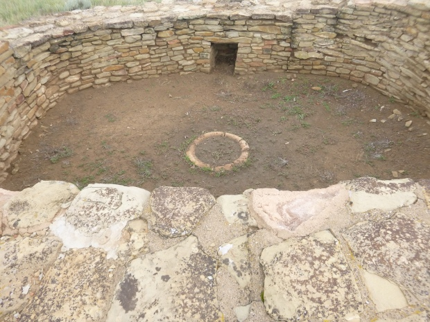 Pit House, 1077 AD, Chimney Rock National Monument, Colorado