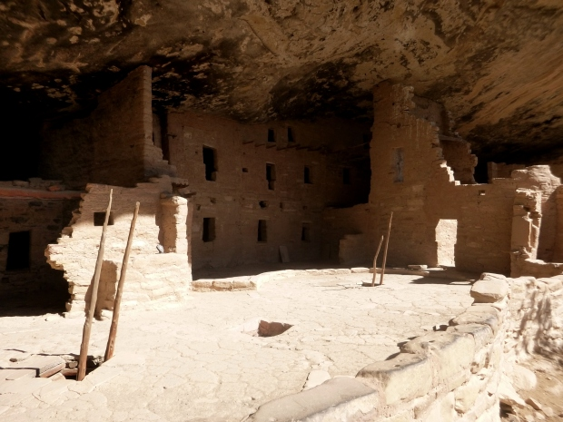 Spruce Tree House, ca. 1211 - 1278 AD, Mesa Verde National Park, Colorado