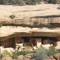 Mesa Verde National Park, Part 2: Canyon Rim Dwellings and Spruce Tree House