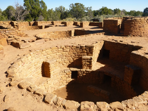 Coyote Villages, ca. 975 - 1250 AD, Mesa Verde National Park, Colorado