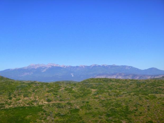 View from atop mesa, Mesa Verde National Park, Colorado