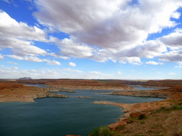 Overlook of Lake Powell, Glen Canyon National Recreational Area, Arizona