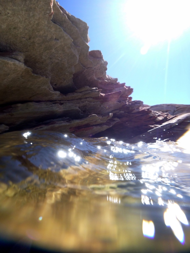Shallows of Lake Powell, Glen Canyon National Recreational Area, Arizona