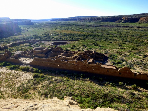 Chetro Ketl from above, Pueblo Alto Trail, Chaco Canyon National Historical Park, New Mexico