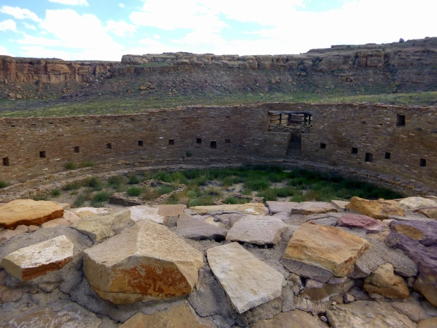 The Great Kiva at Casa Rinconada, ca.1070 - 1110 AD, Chaco Canyon National Historical Park, New Mexico