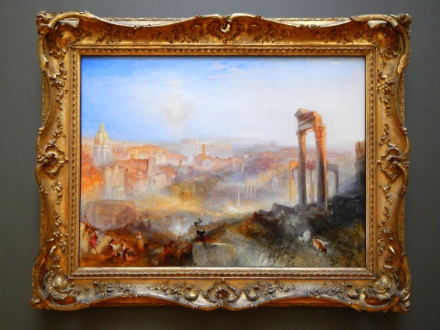Campo Vaccino (Modern Rome), Joseph Mallard William Turner, 1839