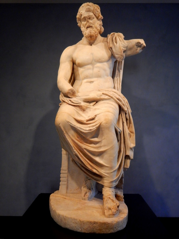 Marbury Hall Zeus, 1st C. AD Roman reproduction of a (Greek) Hellenistic statue