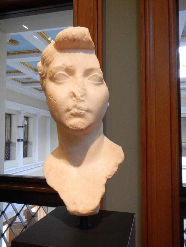 Bust of Livia Drusilla, Roman 1-25 AD