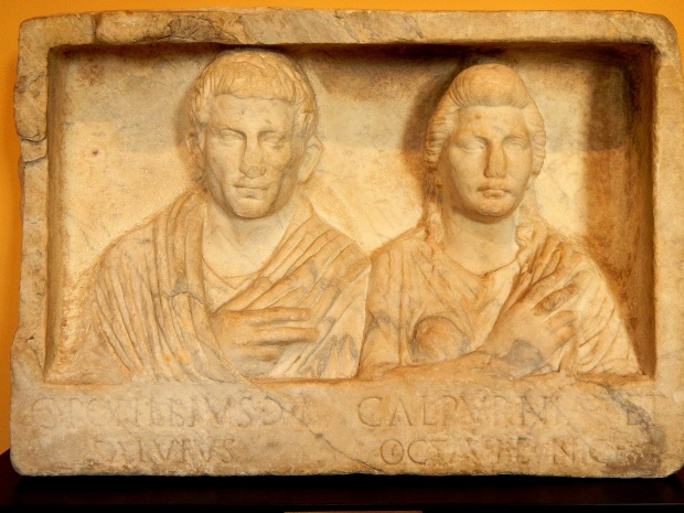 Grave Monument of Popillius and Calpurnia, Roman AD 1-20