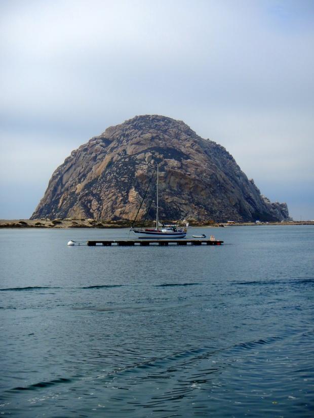 Bay with boats, Morro Bay, California