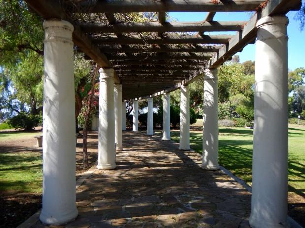 Portico at Presidio, San Diego, California