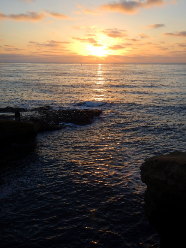 Sunset at Sunset Cliffs, San Diego, California