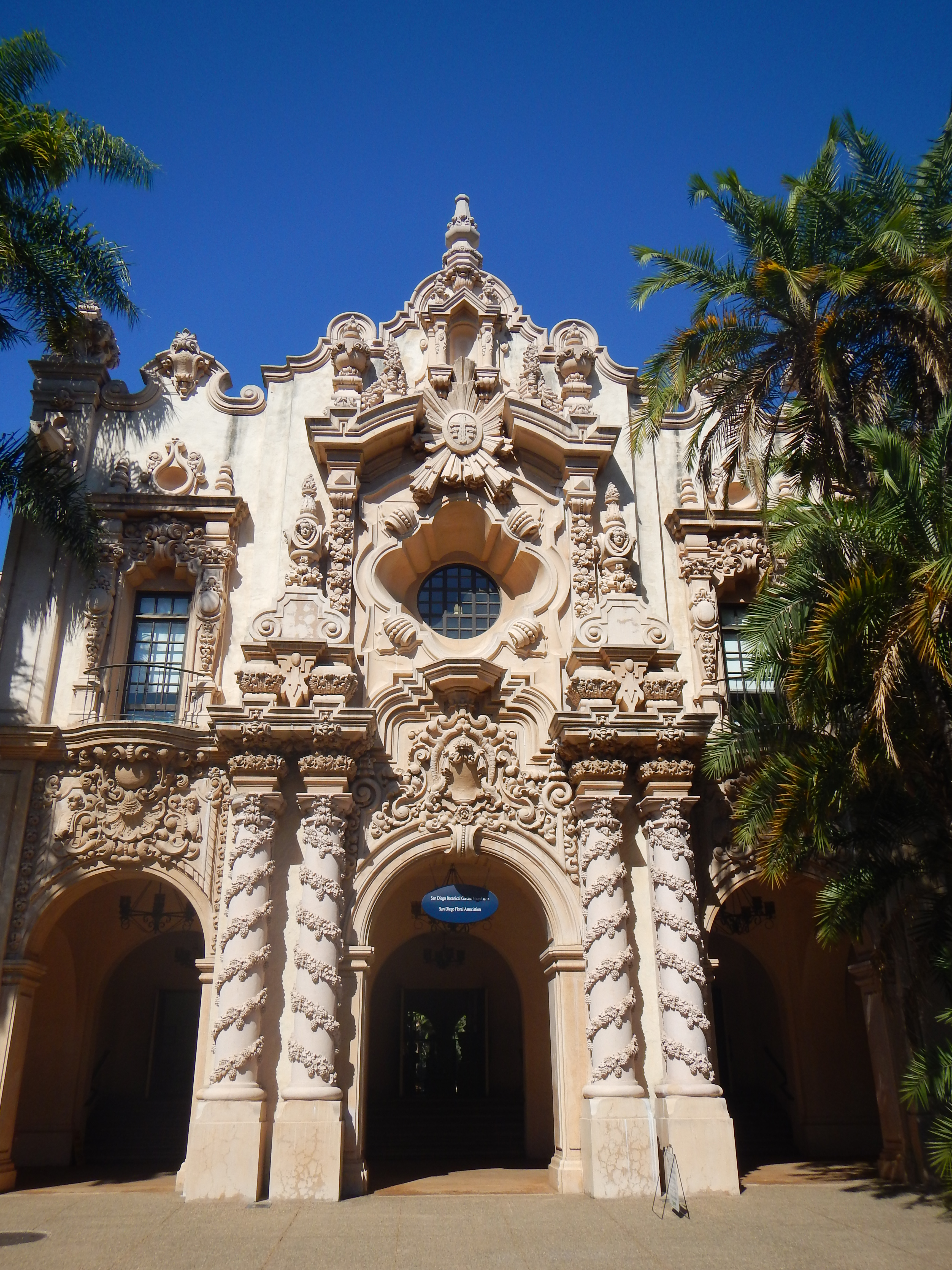 San Diego Part 3 The Architecture and Indoor Gardens of Balboa