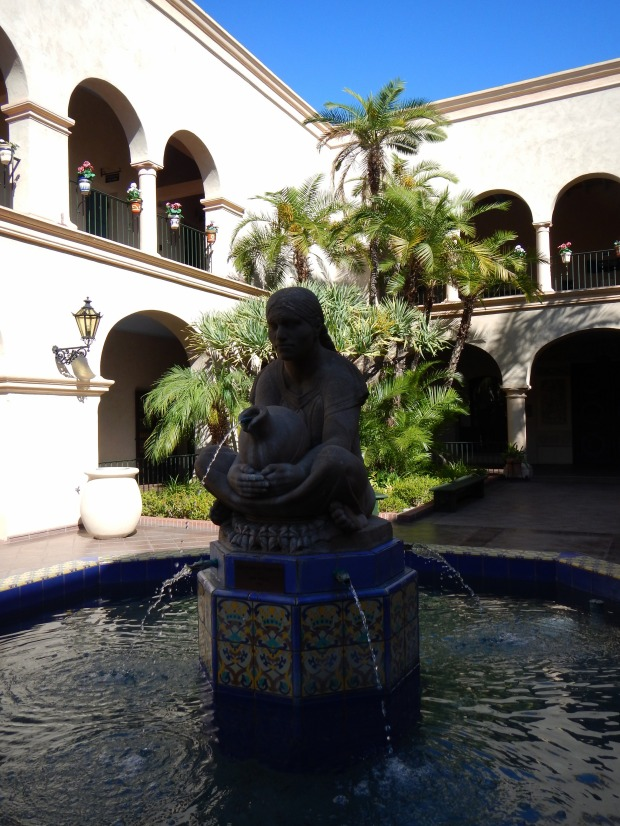 Courtyard in Balboa Park, San Diego, California